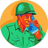 World War Two Soldier American Talk Radio WPA