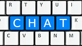 Computer keyboard chat