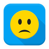 Sad Yellow Smiley App Icon