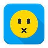 Silent Yellow Smiley App Icon