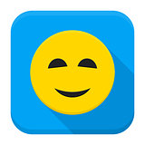 Smiling Yellow Smiley App Icon