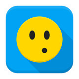 Surprised Yellow Smiley App Icon