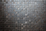 grunge tiled metal background or texture
