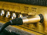 Vintage amplifier input