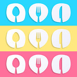 Vector restaurant menu designs