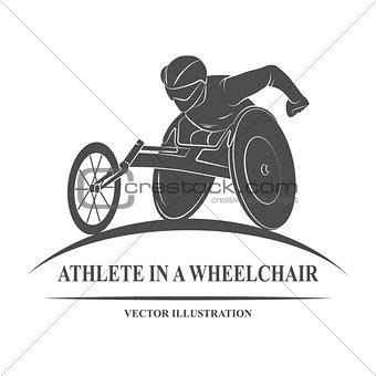 athlete wheelchair Icon
