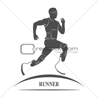 athlete runner Icon