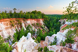 Providence Canyon in Georiga