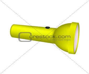 Flashlight in yellow design