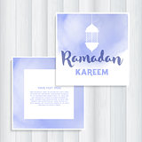 Ramadan invitation design