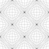 Geometric Mesh Seamless Pattern