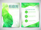 Flyer Geometric Design