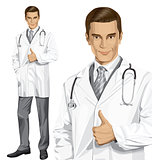 Vector Doctor With Stethoscope