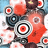Vector abstract graphic pattern