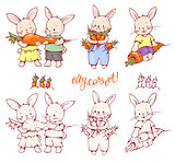 Cartoon Bunnies