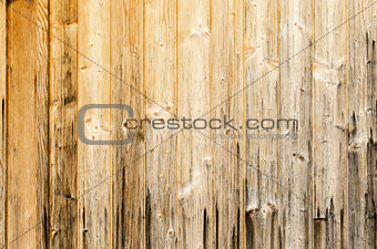 Old Planked Wood Used As Background
