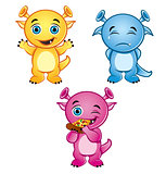 Cute little monsters