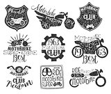 Motorbike Club Vintage Stamp Collection