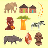 Different Symbols Of Africa