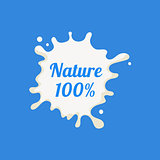 Nature Milk Product Logo