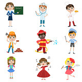 Children Future Profession Set