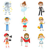 Children Future Profession Collection