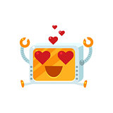 In Love Little Robot Character