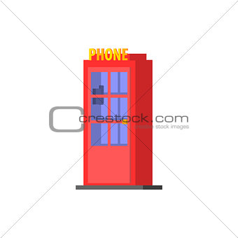City Public Phone Box