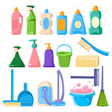 Household Cleaning Equipment Set