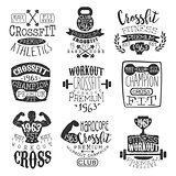 Vintage Gym Fitness Stamp Collection