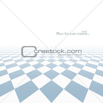 Abstract background with perspective.
