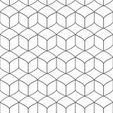 Vector geometric pattern - seamless