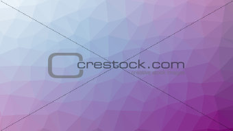 Abstract violet vector gradient lowploly of many triangles background for use in design