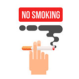 concept of nicotine consumption, smoking pregnant