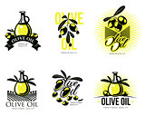 Logo Set about olive oil
