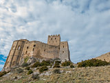 Loarre Castle in Huesca, Spain