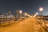 San Francisco Downtown from Pier 7, Night