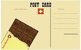 Vintage Swiss postcard