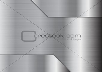 Abstract grey metallic texture background