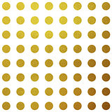 Gold glitter circles pattern design