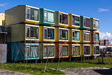 Amersfoort, Colorful student accommodation