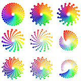 Color Circle design elements