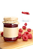 Raspberries Jam