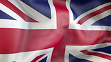 United kingdom flag 3d illustration