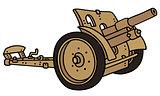 Vintage sand cannon