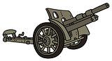 Vintage khaki cannon