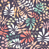 Seamless vector botanical pattern
