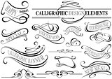 Calligraphic Elements Collection