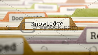 Folder in Catalog Marked as Knowledge.