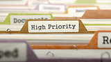 Folder in Catalog Marked as High Priority.